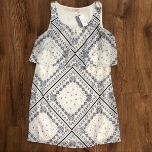 NWT Halo Sleeveless Bandana Juniors Dress Small S